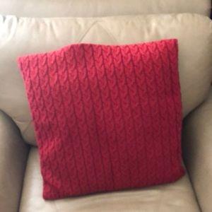 Knit IKEA accent pillow
